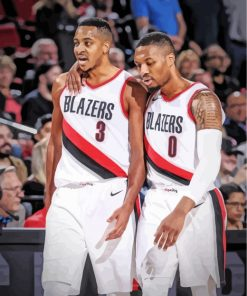 blazers-players-paint-by-numbers