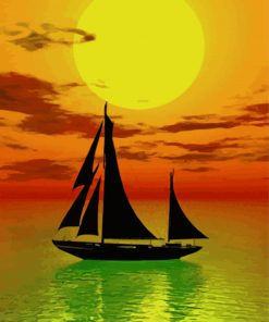 boat-landscape-sunset-paint-by-numbers