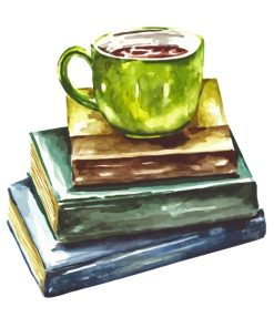 books-and-coffee-paint-by-numbers