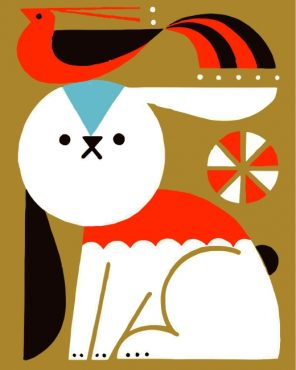 bunny-and-bird-paint-by-numbers