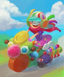candy-girl-paint-by-numbers