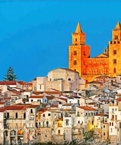 cefalù-cathedral-paint-by-number