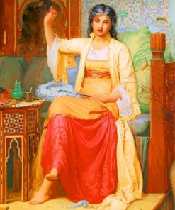 Charles Edward Perugini A Fan Maker Paint
