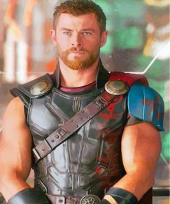chris-hemsworth-thor-paint-by-numbers