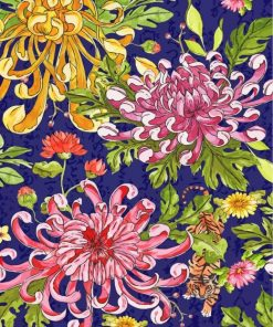 chrysanthemum-paint-by-numbers