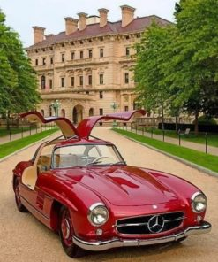 classic-mercedes-benz-paint-by-number