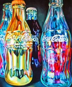Coca Cola Bottles Paint by numbers