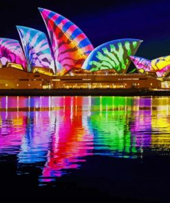 colorful-architecture-reflection-paint-by-numbers