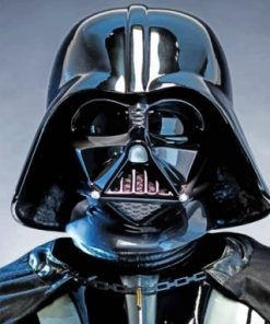 Cool Darth Vader paint by numbers