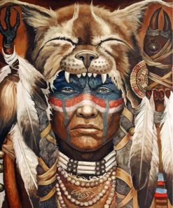 cool-native-american-man-paint-by-numbers