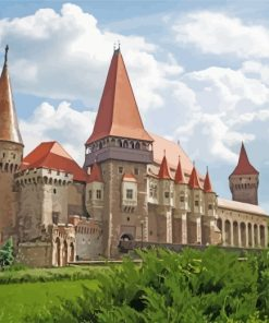 Corvin Castle Paint by numbers