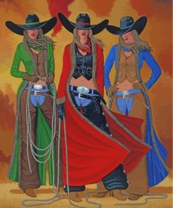 cowgirl-paint-by-numbers
