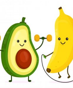 cute-avocadoo-and-banana-paint-by-numbers