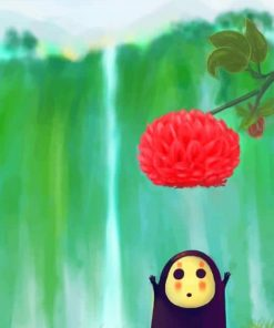 cute-little-kaonashi-spirited-away-paint-by-numbers
