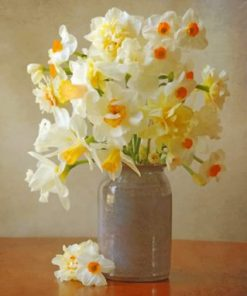 Daffodils Flowers paint by numbers