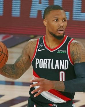 Lillard Damian Player Paint by numbers
