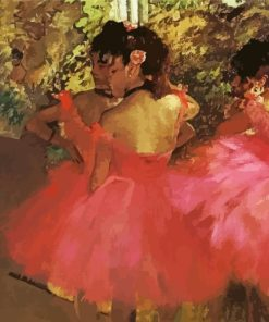 dancers-in-pink-degas-paint-by-numbers