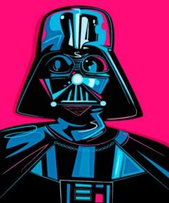 Darth Vader Paint by numbers