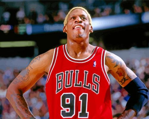 dennis-rodman-chicago-bulls-paint-by-number