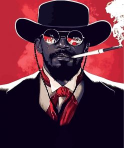 django-unchained-paint-by-numbers