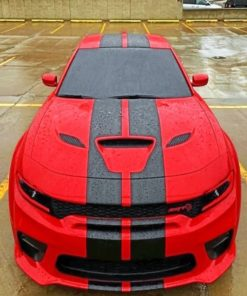 dodge-charger-red-2020-paint-by-numbers