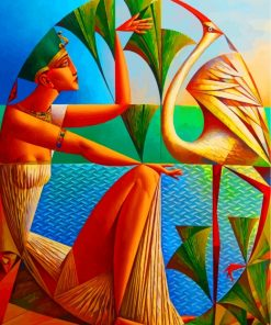 egyptian-cubism-woman-paint-by-numbers