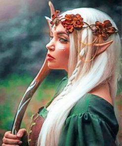 Elf Woman Paint by numbers