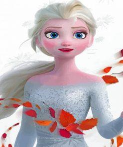 elsa-frozen-paint-by-number