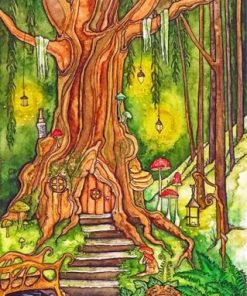 Enchanted Forest Paint by numbers