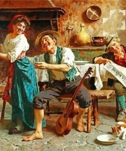 Eugenio Zampighi Art Paint by numbers