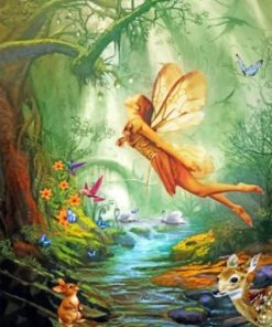 Fantastic Fairy Paint by numbers