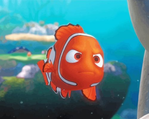 finding-nemo-touching-the-boat-paint-by-numbers