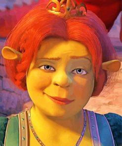 fiona-from-shrek-paint-by-number