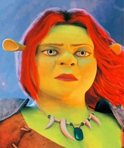 fiona-shrek-paint-by-numbers