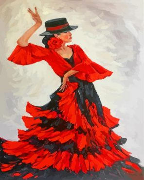 flamenco-dancer-paint-by-numbers