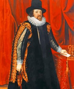 Francis Bacon Portrait Paint by numbers