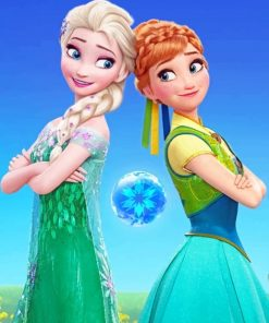 frozen-princesses-paint-by-numbers