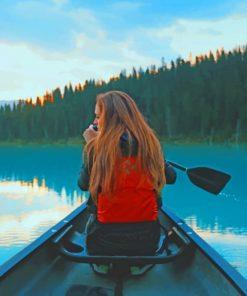 girl-On-kayak-Boat