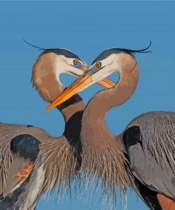 great-blue-heron-couple-paint-by-number