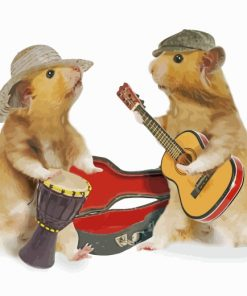 hamsters-playing-musical-instruments-paint-by-numbers