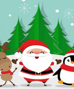 happy-santa-paint-by-numbers