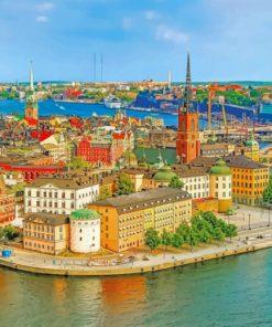 helsinki-buildings-finland-paint-by-numbers