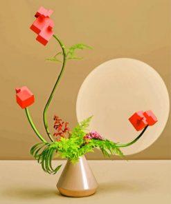 ikebana-still-life-paint-by-number