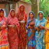Indian Women Wearing Sari Paint by numbers