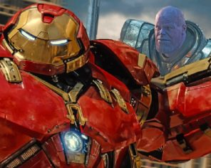 iron-man-and-thanos-paint-by-numbers