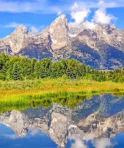 Jackson Hole Paint by numbers