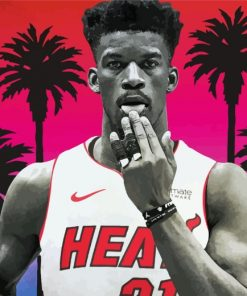 Jimmy Butler paint by numbers