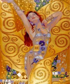 Woman By Klimt