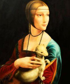 lady-with-an-ermine-leonardo-da-vinci-paint-by-number