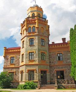 latvia-sigulda-castle-paint-by-numbers